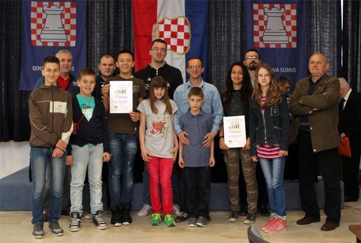 Završen Festival šaha Herceg-Bosne